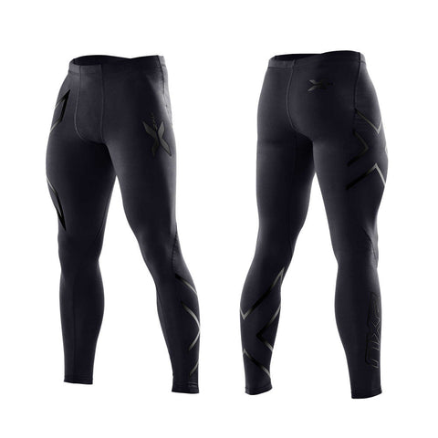 2XU Men's Compression Tights - Black Nero
