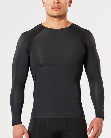 2XU MEN'S REFRESH RECOVERY COMP LONG SLEEVE TOP