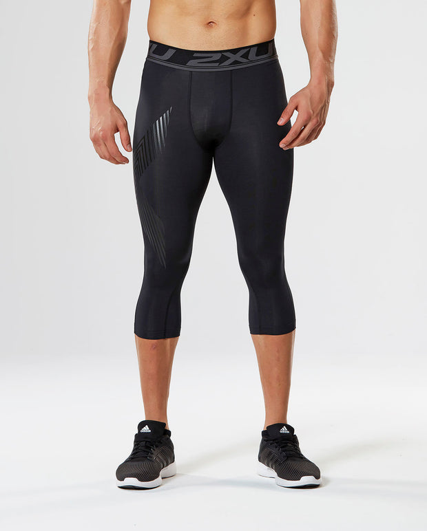 2XU MEN'S ACCELERATE COMPRESSION 3/4 TIGHTS