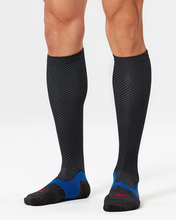 2XU MEN'S ELITE LITE X:LOCK COMPRESSION SOCKS