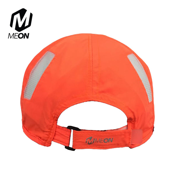 Meon Run Cap - Neon Orange