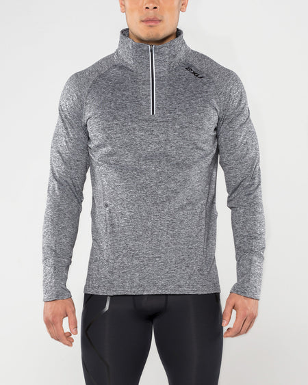 2XU MEN'S FORMSOFT 1/4 ZIP L/S TOP