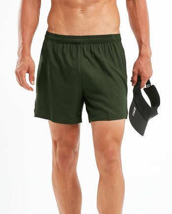 "2XU MEN'S HEAT 5"" FREE SHORT"
