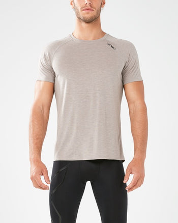 2XU MEN'S HEAT SHORT SLEEVE RUN TEE