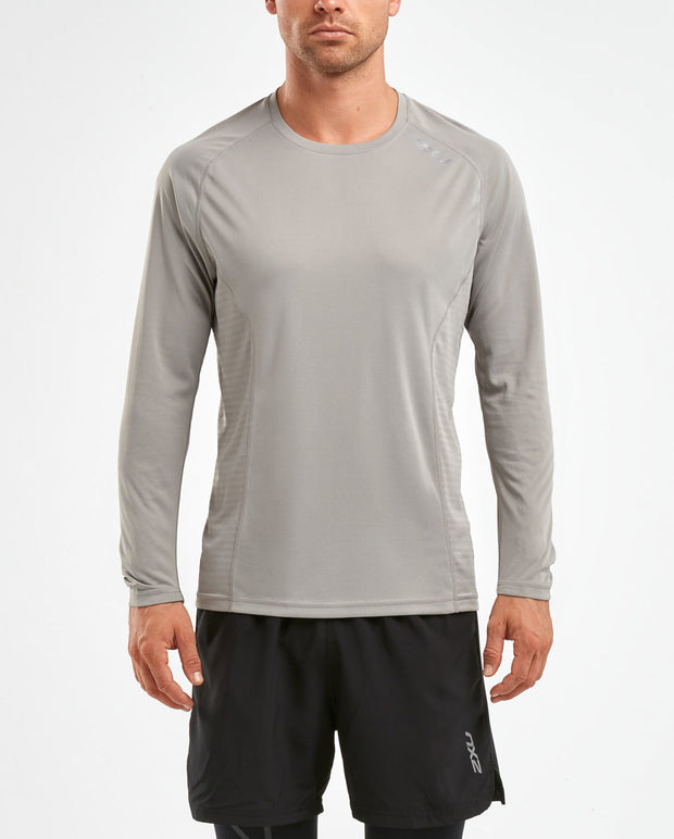 2XU MEN'S XVENT L/S TOP - W18