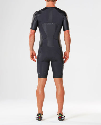 2XU MEN'S COMPRESSION FULL ZIP SLEEVED TRISUIT