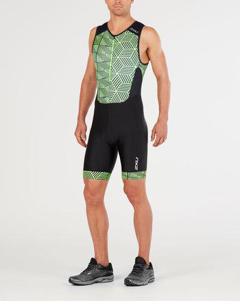 2XU MEN'S PERFORM FRONT ZIP TRISUIT