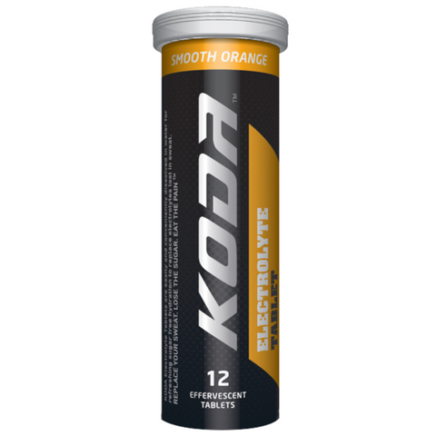 Koda Electrolyte 12 Tablets Tube - Orange