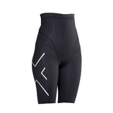 2XU PREGNANCY POST NATAL COMPRESSION SHORTS - BLACK SILVER
