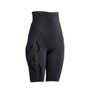 2XU PREGNANCY POST NATAL COMPRESSION SHORTS - BLACK NERO