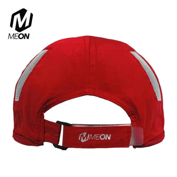 Meon Run Cap - Ruby Red