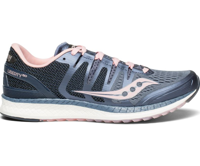 Details about GREAT Saucony Everun Liberty ISO tennis fitness running zapatos De las mujeres 8
