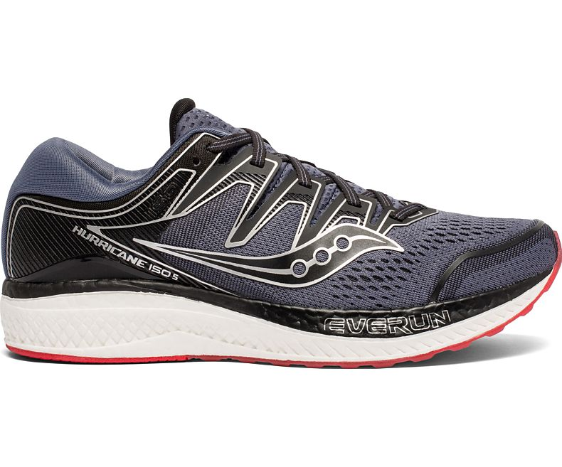 The Saucony Hurricane Iso 5 is a highly cushioned stability