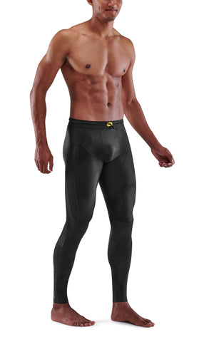 SKINS Men's Compression Long Tights 5-Series - Black