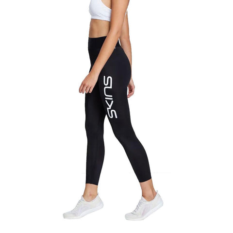 [PRE-ORDER] SKINS DNAMIC PRIMARY WOMENS 7/8 TIGHT SKYSCRAPER BLACK