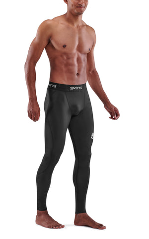 SKINS Men's Compression Long Tights 1-Series - Black