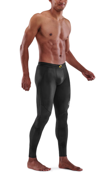SKINS Men's Compression Long Tights 3-Series - Black