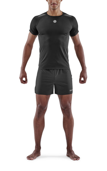 SKINS Men's Activewear Short sleeve Top 3-Series - Black