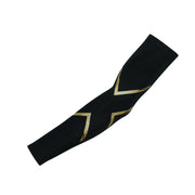 2XU Unisex MCS COMPRESSION ARM GUARDS - BLACK/GOLD