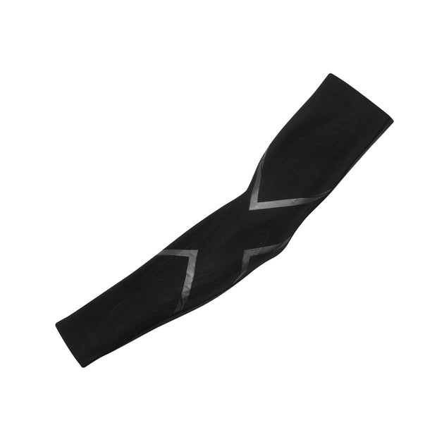 2XU Unisex MCS COMPRESSION ARM GUARDS - BLACK/NERO
