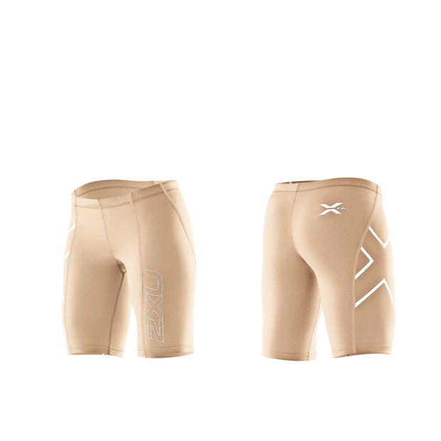 2XU Women's Compression Shorts - BROWN