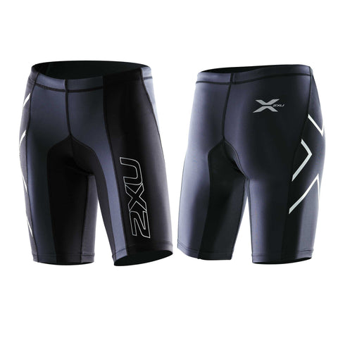 2XU WOMEN'S ELITE COMPRESSION SHORT MA1935 BLK