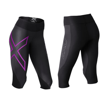 2XU WOMEN'S MID-RISE COMPRESSION 3/4 TIGHTS