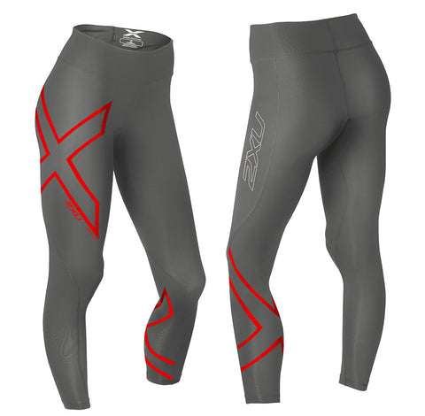 2XU Women's HYOPTIK MID-RISE THERMAL COMPRESSION TIGHT - STL/RRF
