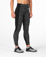2XU WOMEN'S FITNESS COMPRESSION TIGHTS WITH STORAGE