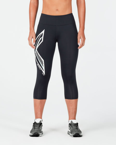 2XU WOMEN'S ICE X MID-RISE COMPRESSION 3/4 TIGHTS