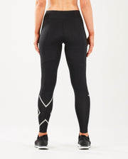 2XU WOMEN'S RUN MID RISE COMPRESSION TIGHTS