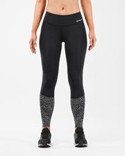 2XU WOMEN'S REFLECT RUN MID-RISE COMPRESSION TIGHT