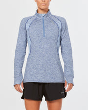 2XU WOMEN'S X-VENT LONG SLEEVE TOP WITH 1/4 ZIP