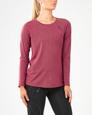 2XU WOMEN'S HEAT LONG SLEEVE RUN TOP