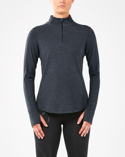 2XU WOMEN'S HEAT 1/4 ZIP TOP