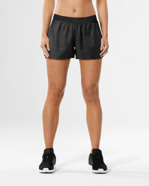 "2XU WOMEN'S HEAT 3"" RUN SHORT"