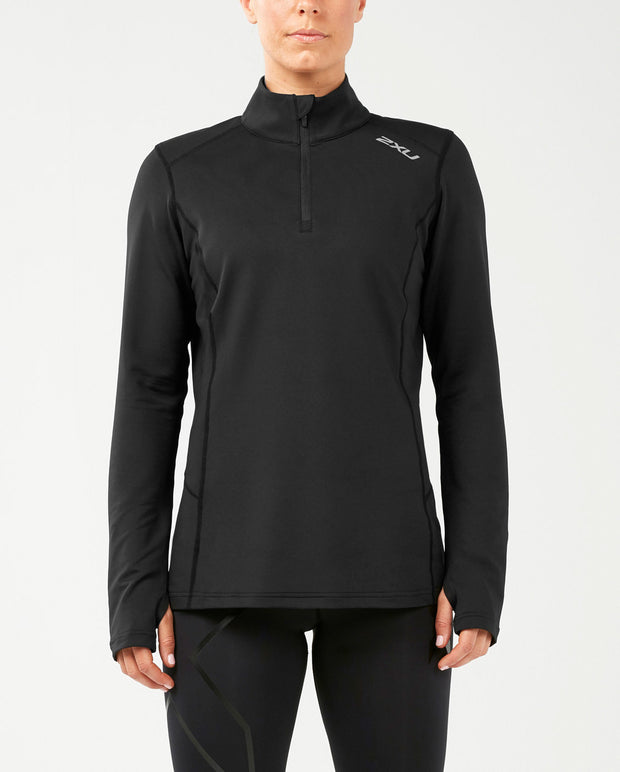 2XU WOMEN'S XVENT 1/4 ZIP LONG SLEEVE TOP