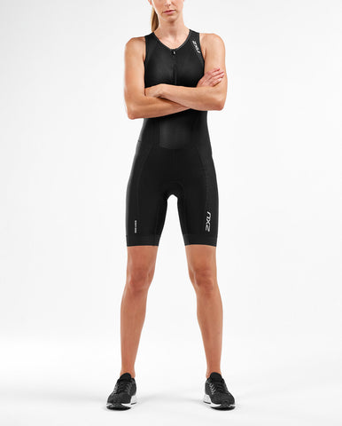 2XU Women's Perform Front Zip Trisuit