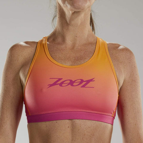 ZOOT WOMENS LTD TRI BRA - SUNSET