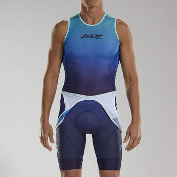 ZOOT MENS LTD CYCLE BASE LAYER - SUNSET