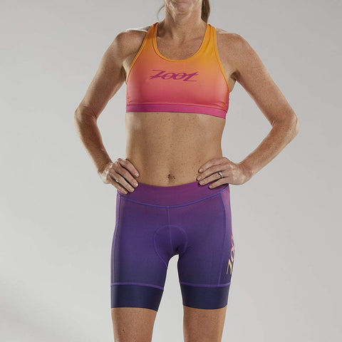 ZOOT WOMENS LTD CYCLE SHORT - SUNSET