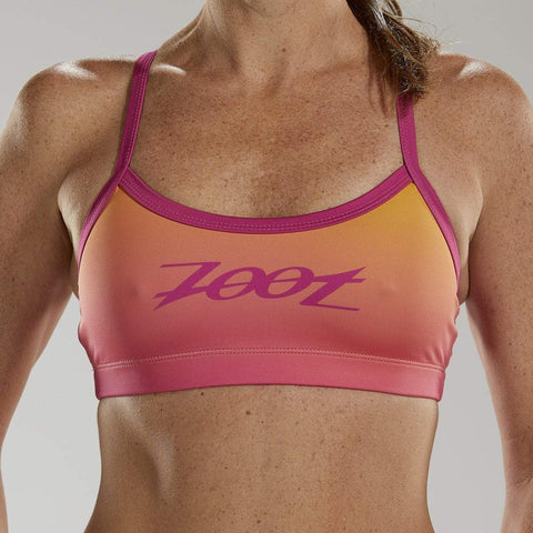 ZOOT WOMENS LTD SWIM BIKINI TOP - SUNSET