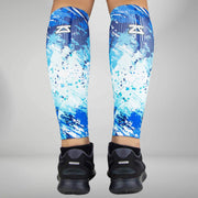 ZENSAH COMPRESSION LEG SLEEVES - ABSTRACT PAINT