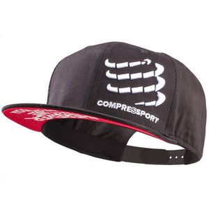 COMPRESSPORT FLAT CAP - BLACK