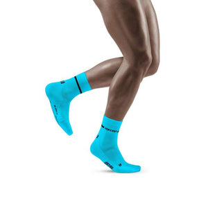 CEP Men's Compression Neon Mid Cut Socks WP2CBG