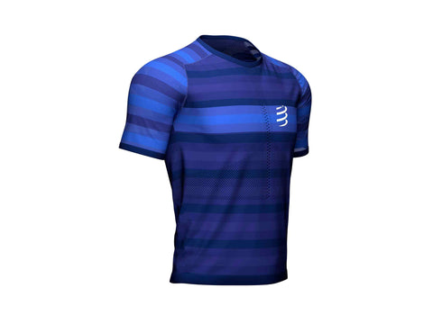COMPRESSPORT RACING SS TSHIRT - BLUE