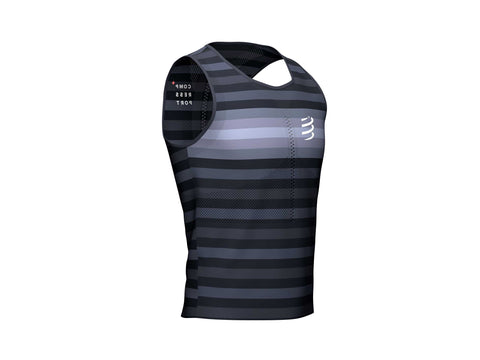 COMPRESSPORT PRO RACING SINGLET - BLACK