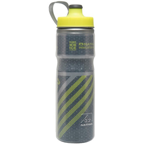 NATHAN Fire & Ice 2 Hydration Bottle - Dark Slate