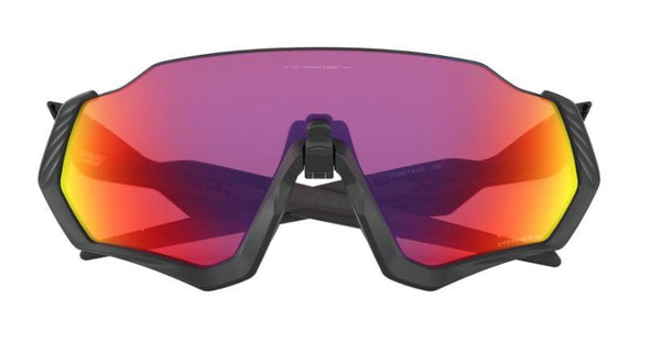 Oakley Flight Jacket - Matte Black W/Prizm Road