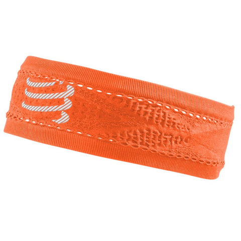 COMPRESSPORT THIN HEADBAND ON/OFF - FLUO ORANGE